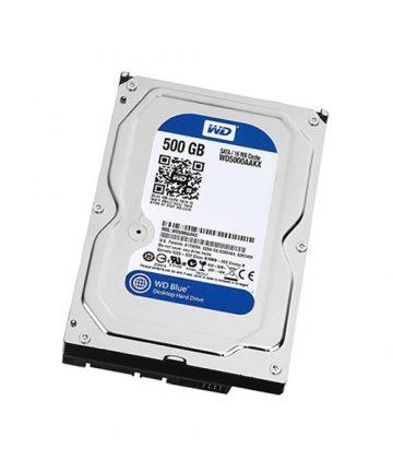 هارد دیسک وسترن دیجیتال مدل WD BLUE WD5000AAKX  حجم ۵۰۰ گیگابایت
